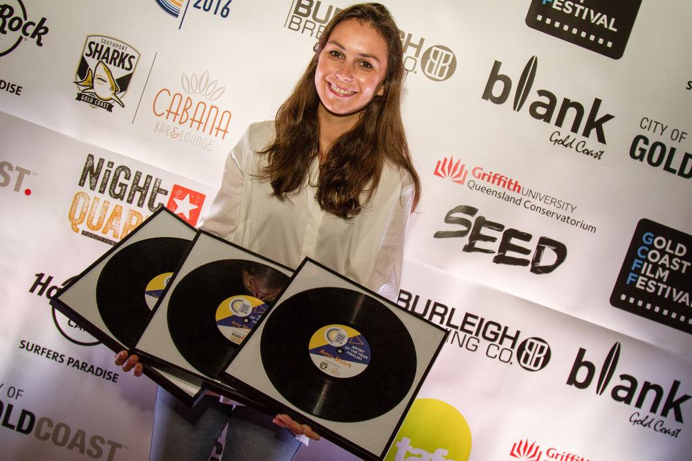 Multi Gold Coast Music Awards finalist, Amy Shark.