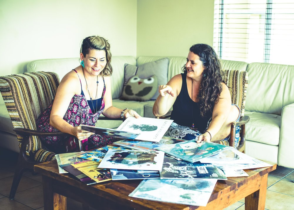 Kylie Cobb and Samantha Morris