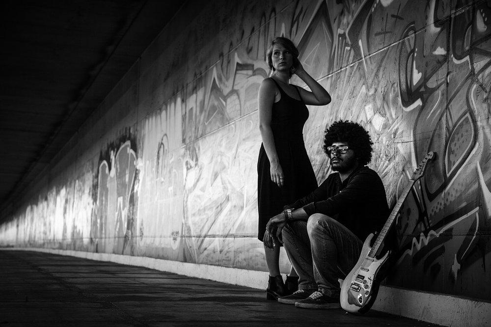 Eduardo Curva and Julia Dorry