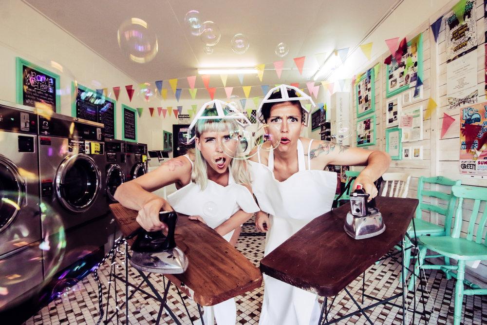 Ironing Maidens Press Pic by Polly Snowden | Kitty Kitty Bang Bang (1 of 4).jpg