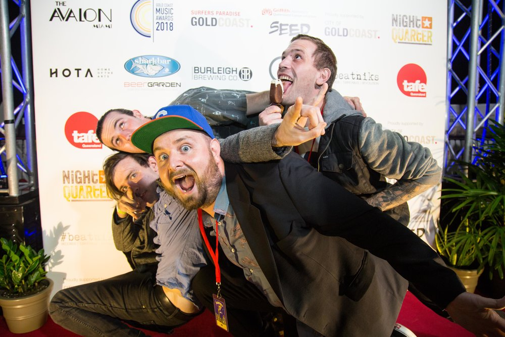 Electrik Lemonade, 2018 Gold Coast Music Awards finalists and live performers.