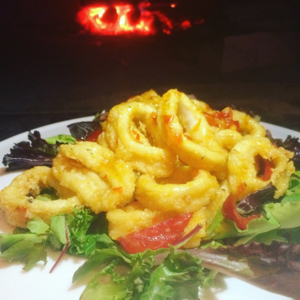 APPETIZER Sweet & Spicy Calamari $14