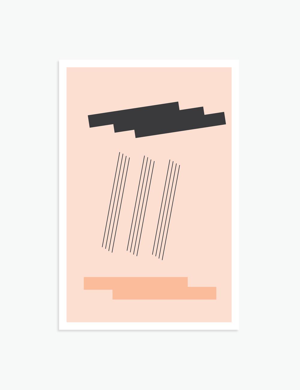 "All Turned Around   18"" x 12"" vector illustration, 2018"