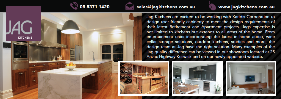 Quarter Page Advertisement for JAG Kichens for ABNS Magazine