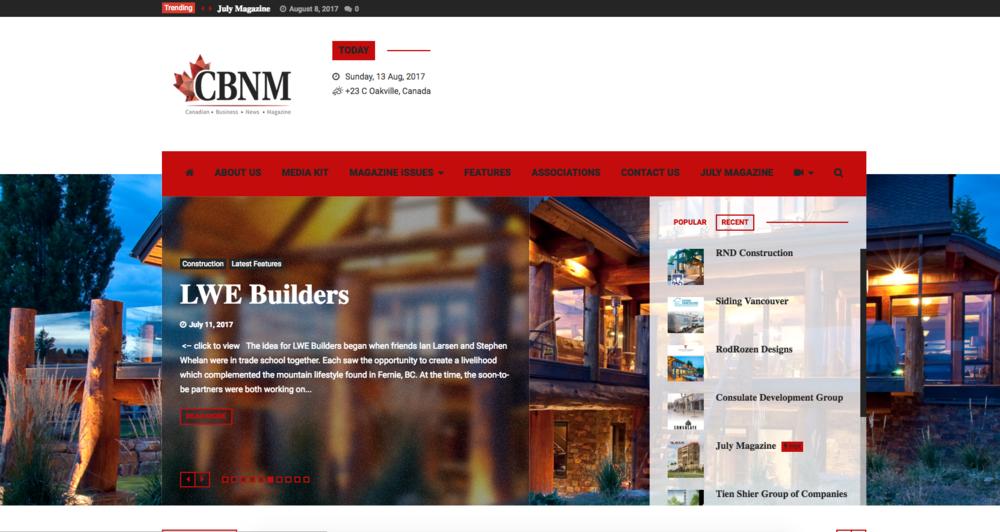 CBNM Website