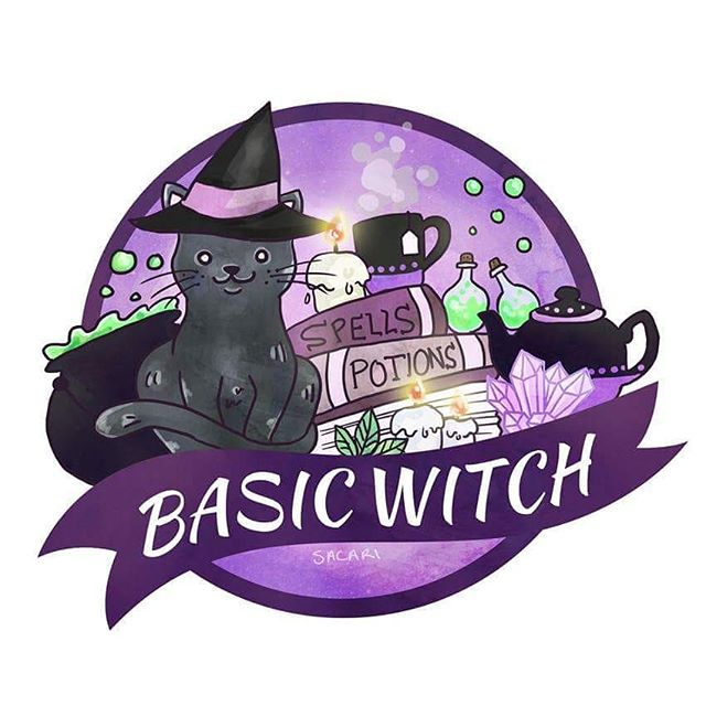 A cute little drawing I did in the weekend! It's up on my (very neglected) @redbubble and I'm planning on getting some stickers made of it for my @etsy! ✨  #drawing #witch #witchy #cat #witchcraft #magic #cat #cuteart #redbubble #designer #illustration #basicwitch #spells #art #purple #artist