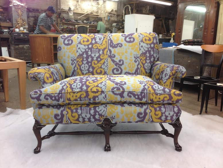 Love Seat - Restored and Reupholstered