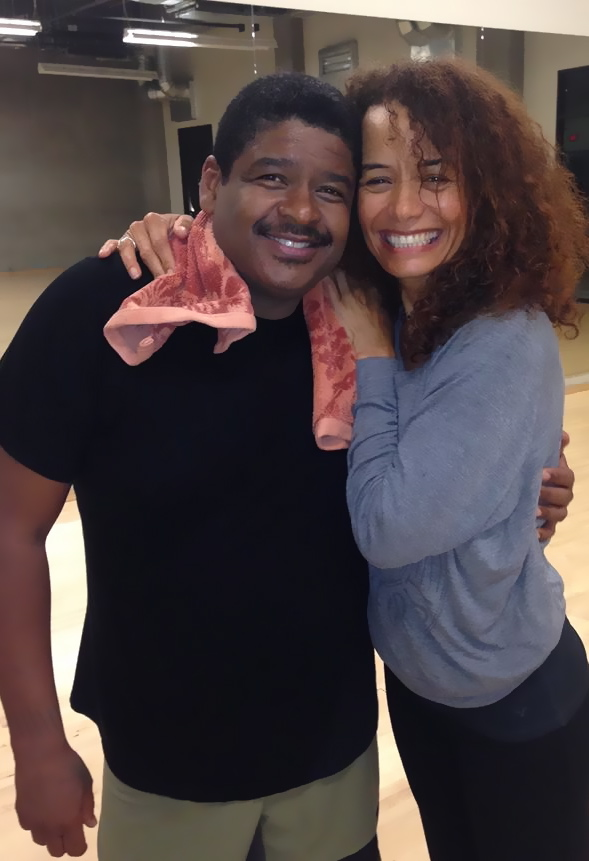 With renowned choreographer Bill Goodson