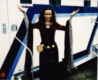 In front of my trailer on Stargate-SG1
