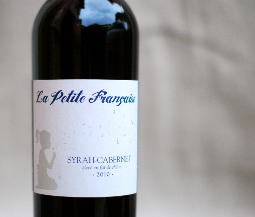 La Petite Francaise Syrah Cabernet label