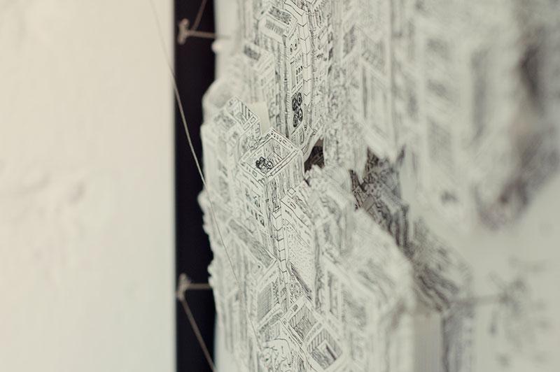 3D machine illustration Matt made in grad school at Art Center.