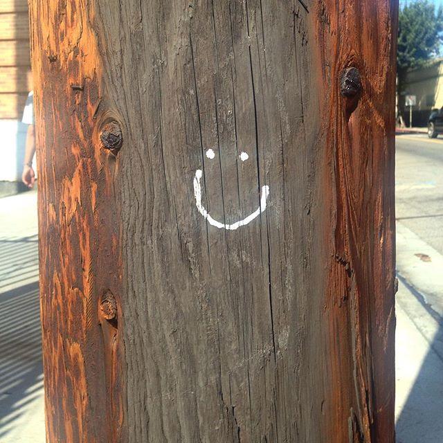 Found a wild happy face