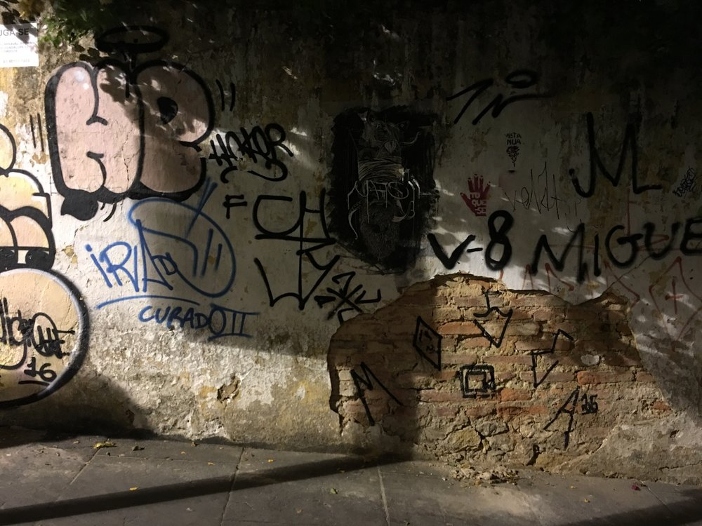 "In some cases, the Pixo would represent members of local Favelas (slums). In this example, we can see a signature from someone named Miguel, who resides in the Favela ""v-8""."