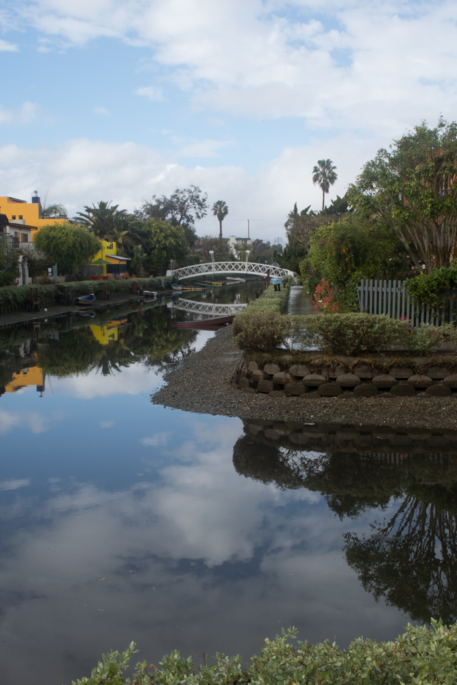 Venice Canals on a rainy winter day. 1.5.2016
