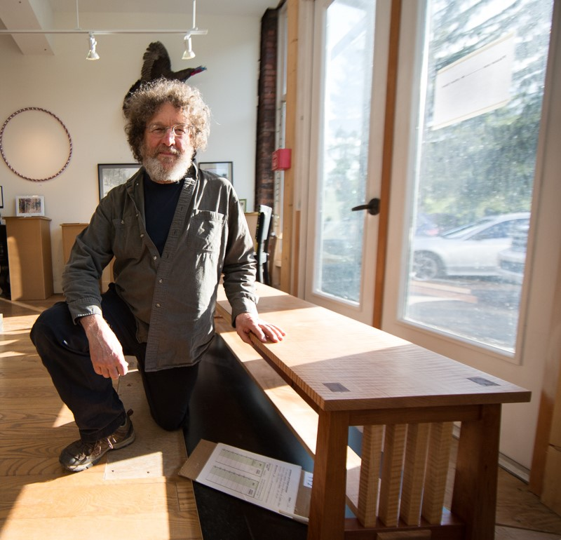 """Tom   is an accomplished woodworker who enjoys continuing to learn about the craft. He enjoys creating the annual """"ArtSpring bench"""" which he donates to the Silent Auction each year. Tom brings years of consulting experience to helping ArtSpring with medium and long term planning.  Tom is a retired electrical engineer and makes his home in Canaan Valley with his wife Elaine and two dogs. He enjoys downhill skiing, mountain biking and kayaking."""