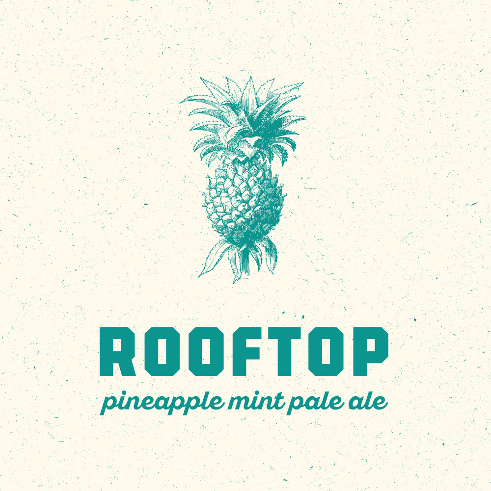 American Pale Ale 5% ABV With fresh pineapple and mint added throughout the process Light and refreshing