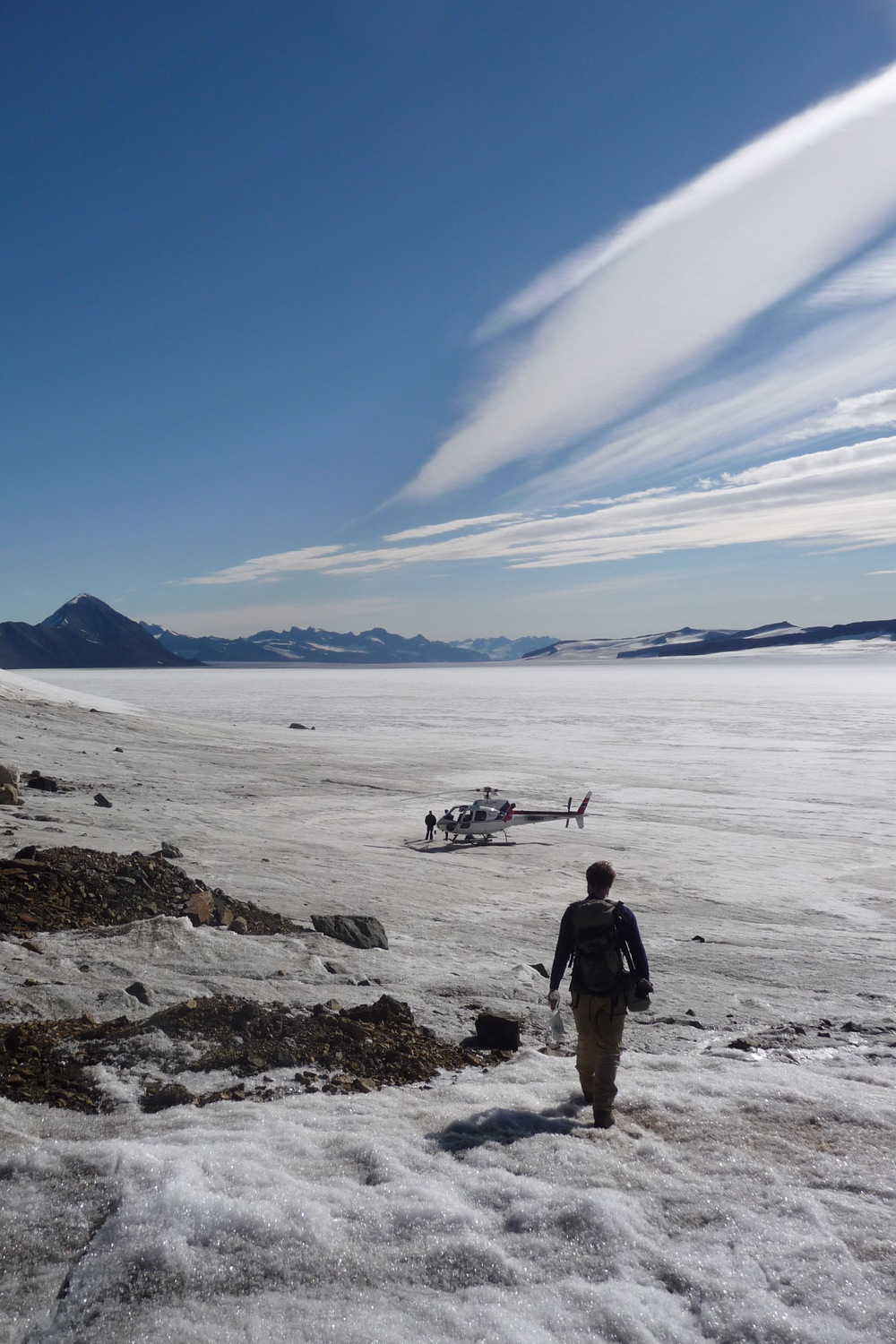 Reconnaissance in East Greenland
