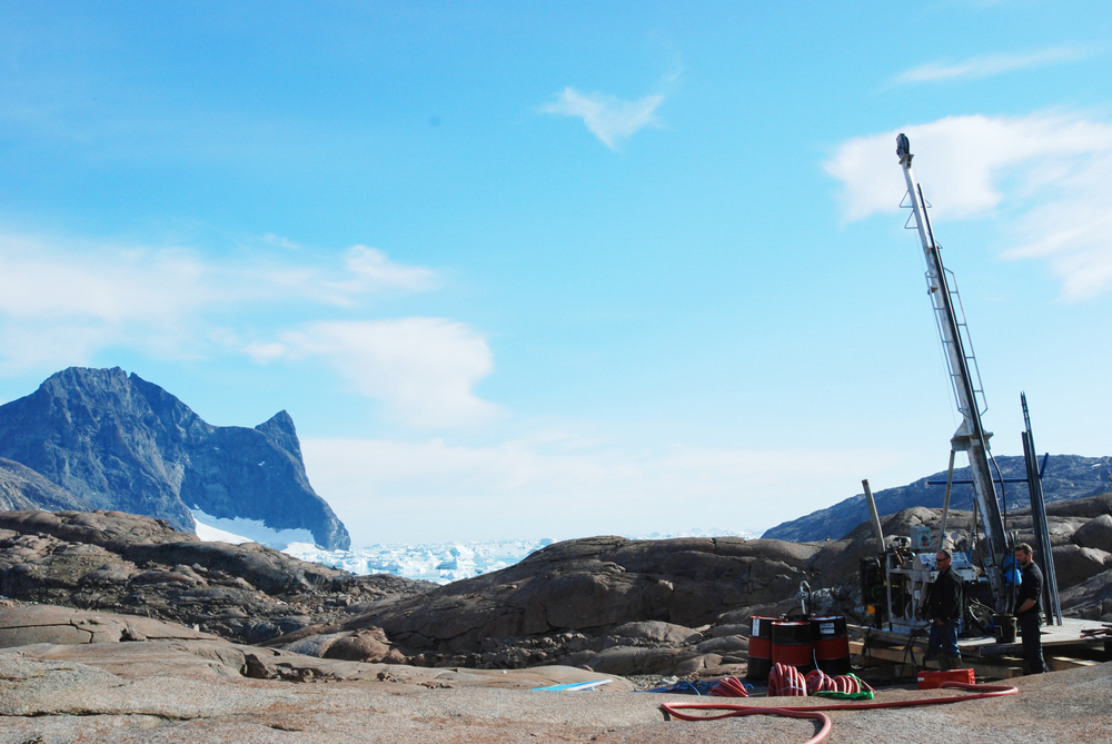 Diamond Drilling in East Greenland