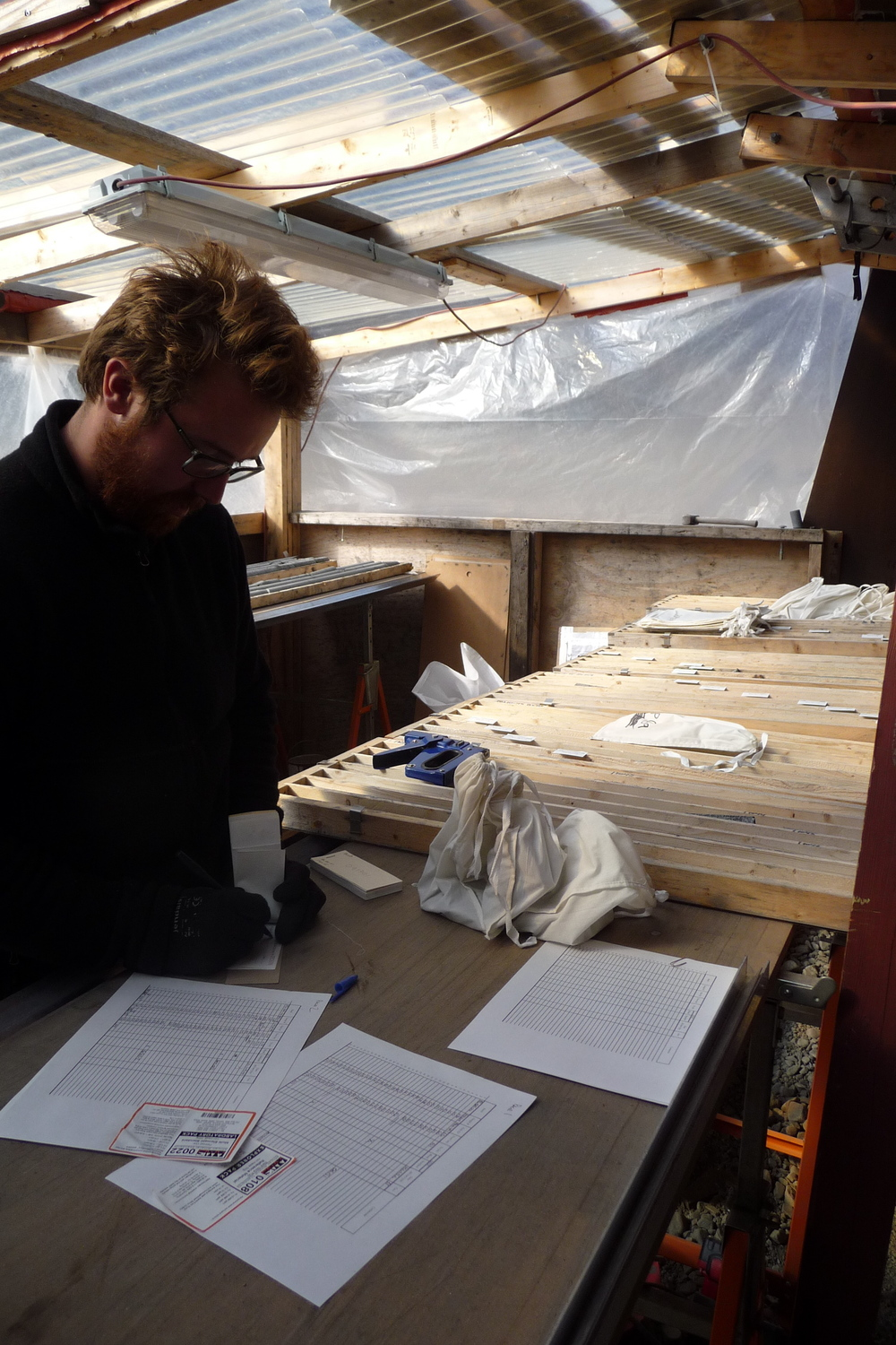 Core logging and sampling for PGE-Gold in Greenland