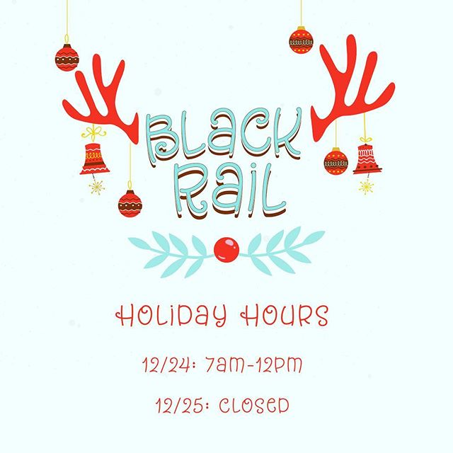 Please observe our holiday hours