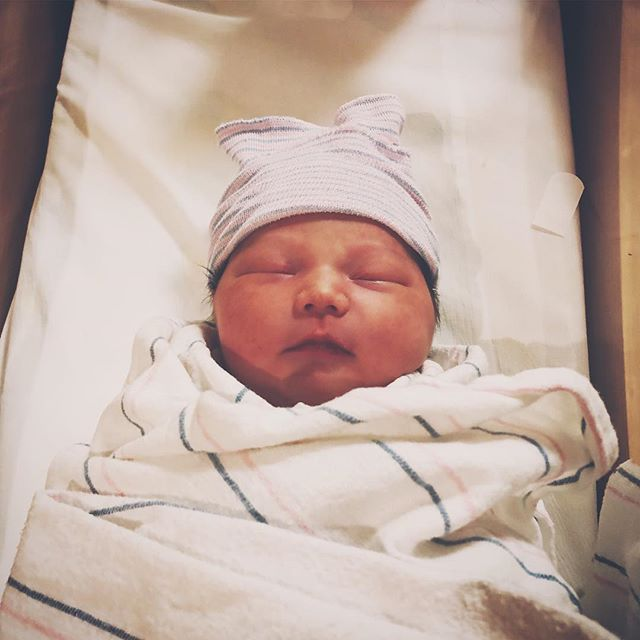 Please welcome the newest addition to the Black Rail family. Simone Domanic was born 6:58am on Thursday at a healthy weight of 8lbs! Congrats to Daisy and Michael. She is beautiful