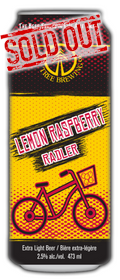 Lemon Raspberry Radler