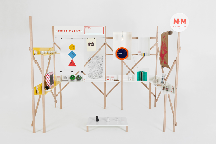"""Mobile Museum  project to be featured at the  Friday Late: Summer Camp  series at the V&A.   About Summer Camp: """"A special season of events unpicking the design process. The visitor will be placed at the centre of the design process, playfully examining the shift from the vision of the lone designer to collaborative design practice and personalised production."""""""