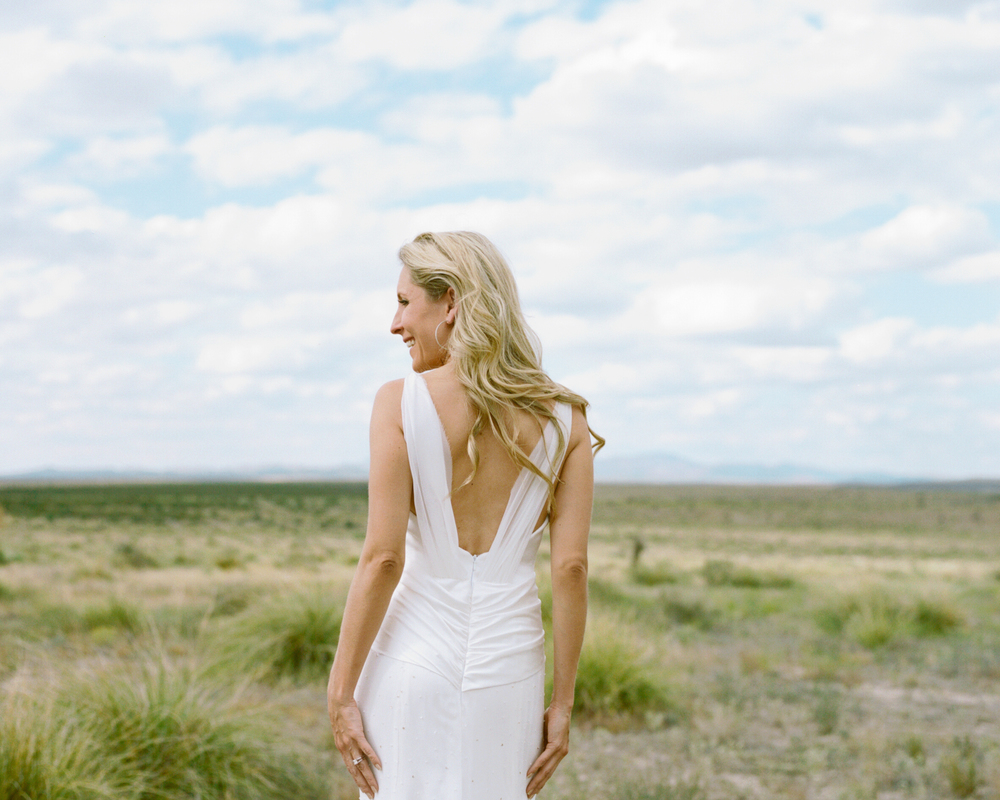 Marfa Texas Wedding - Jessica Garmon