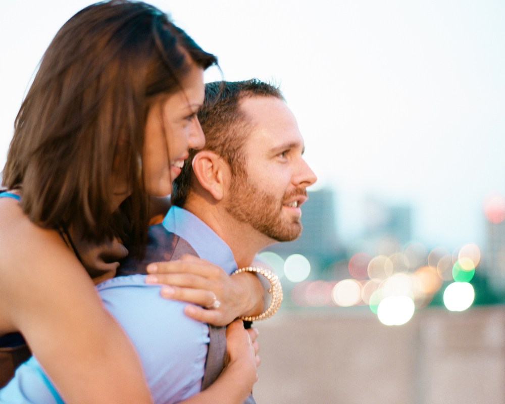 Dallas Skyline Engagement - Jessica Garmon