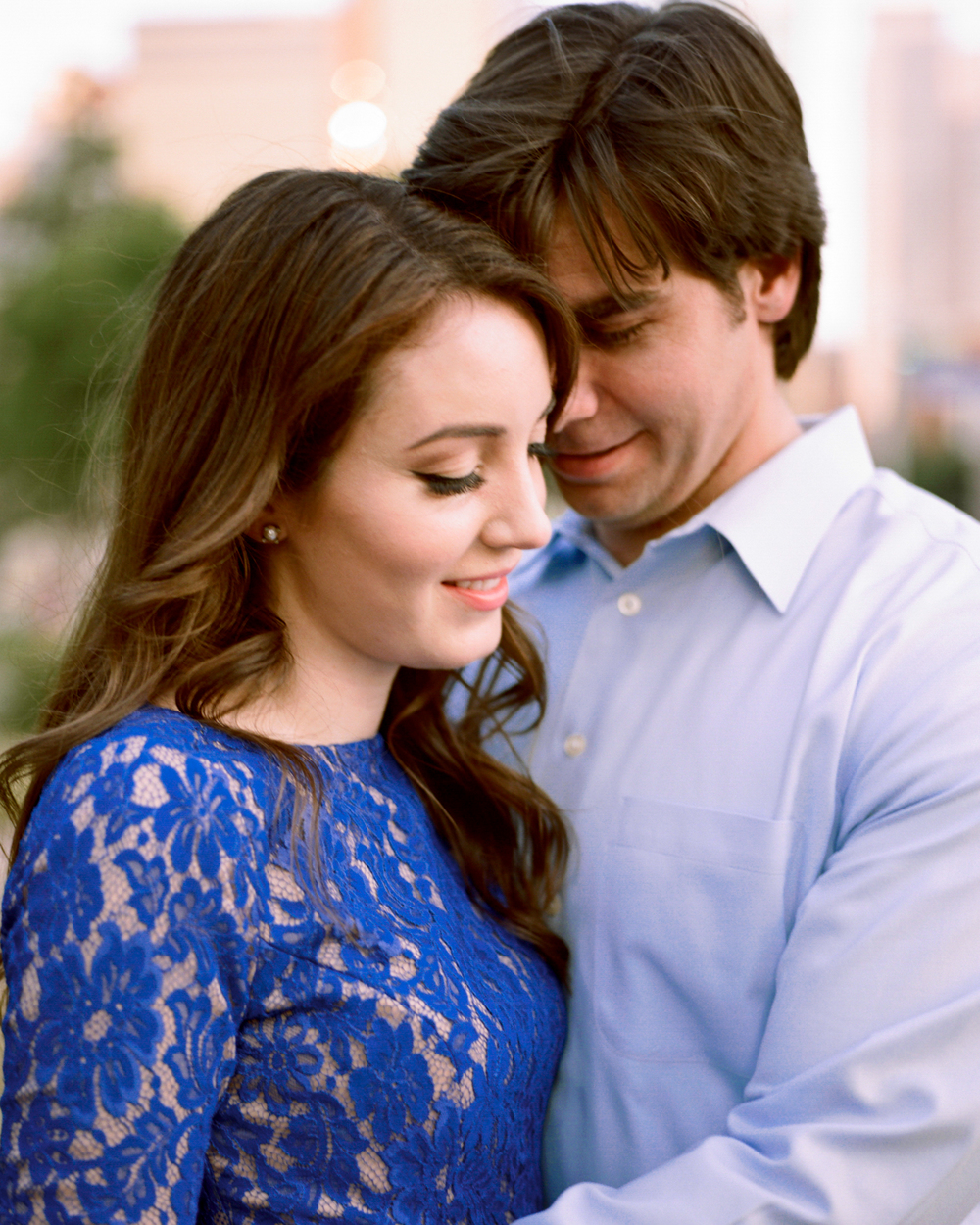 Downtown Dallas Engagement Photography by Jessica Garmon
