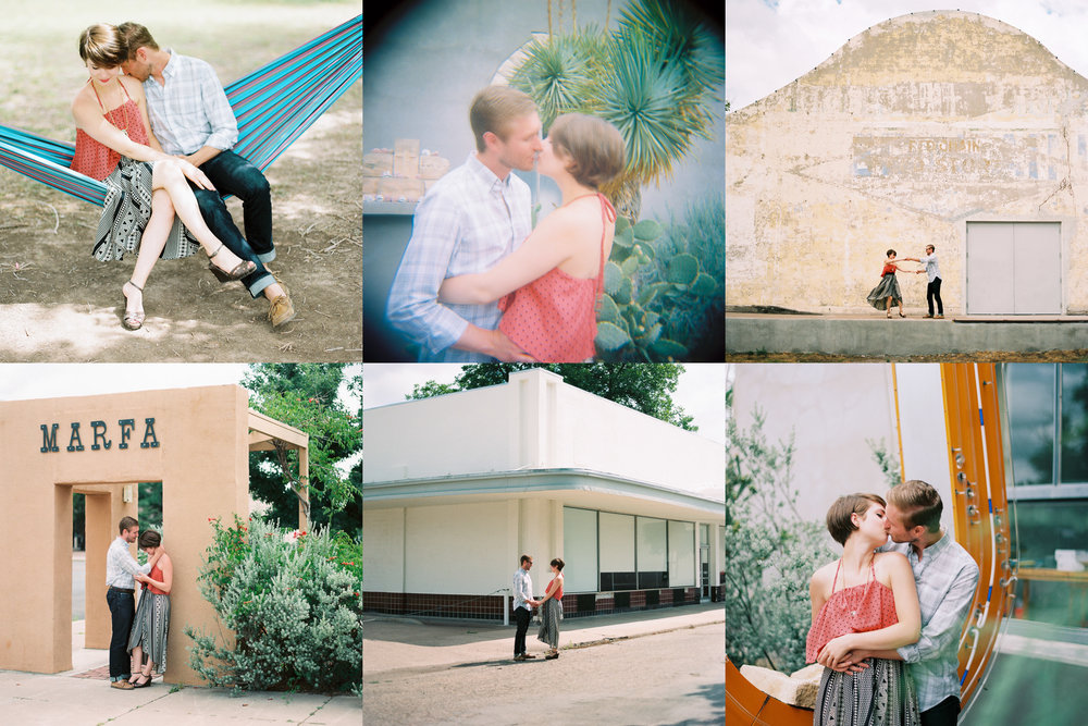 Marfa Texas Engagement by Jessica Garmon
