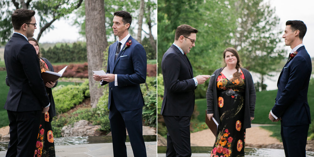 Same Sex Alex Camp Dallas Arboretum Wedding