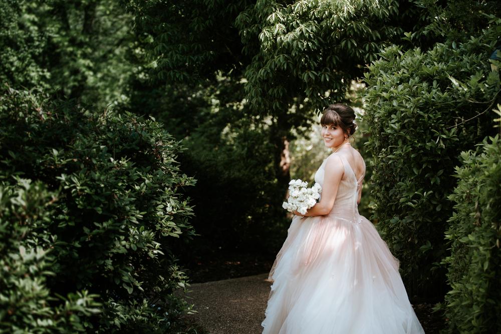 Mynelle Gardens Jackson, Mississippi Bridal Portraits | Maria Newman Photography