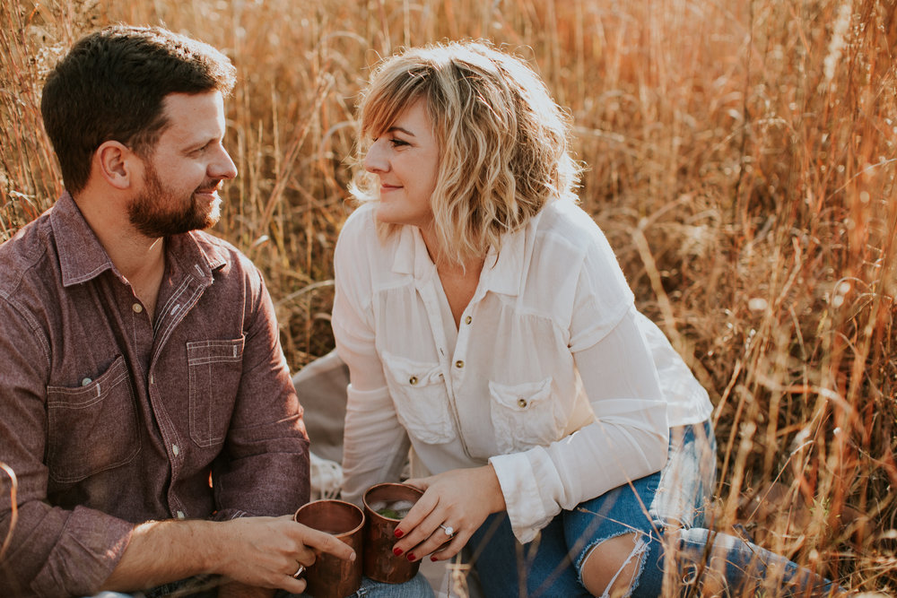 moscow mules engagement session
