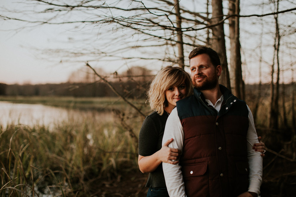 Southern Fall Mississippi Engagement | Maria Newman Photography