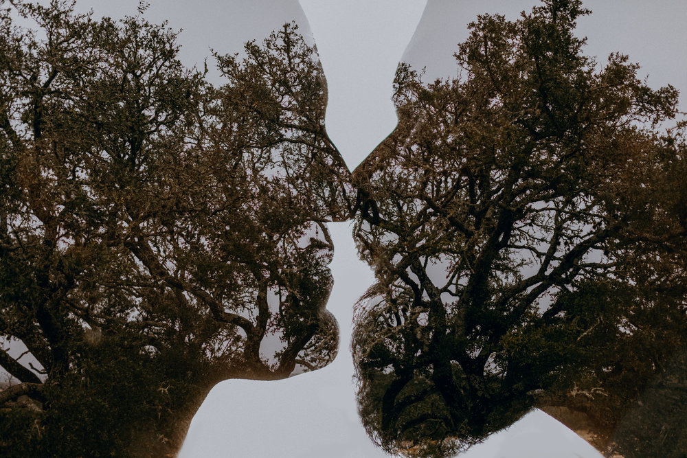 Austin, Texas Wedding Photography - Double Exposure