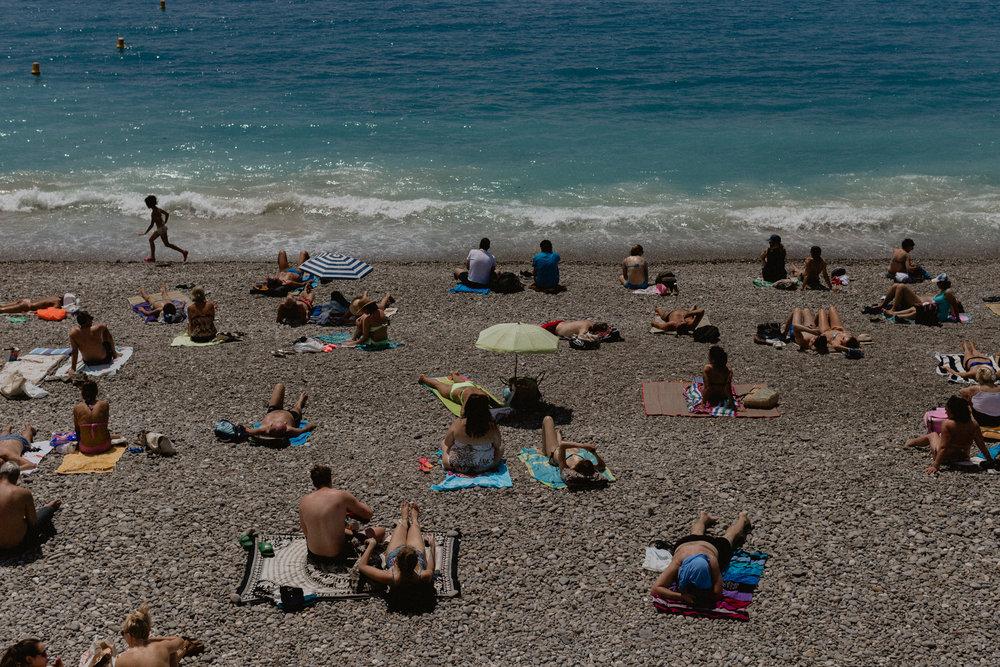 Nice, France Beach