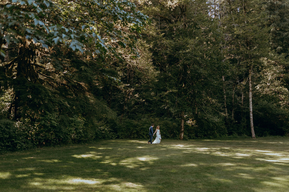 Silver Falls State Park, Oregon Wedding Photographer