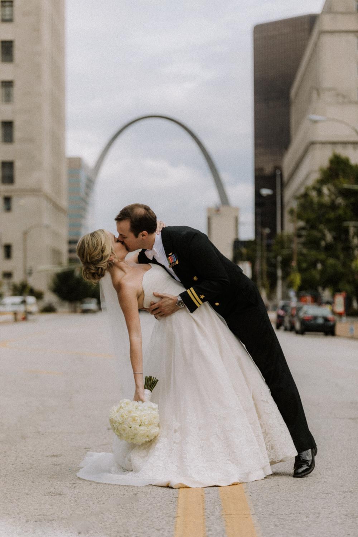St. Louis, MO Arch Wedding