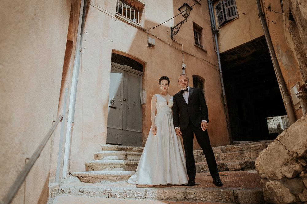 Grasse, France Destination Wedding