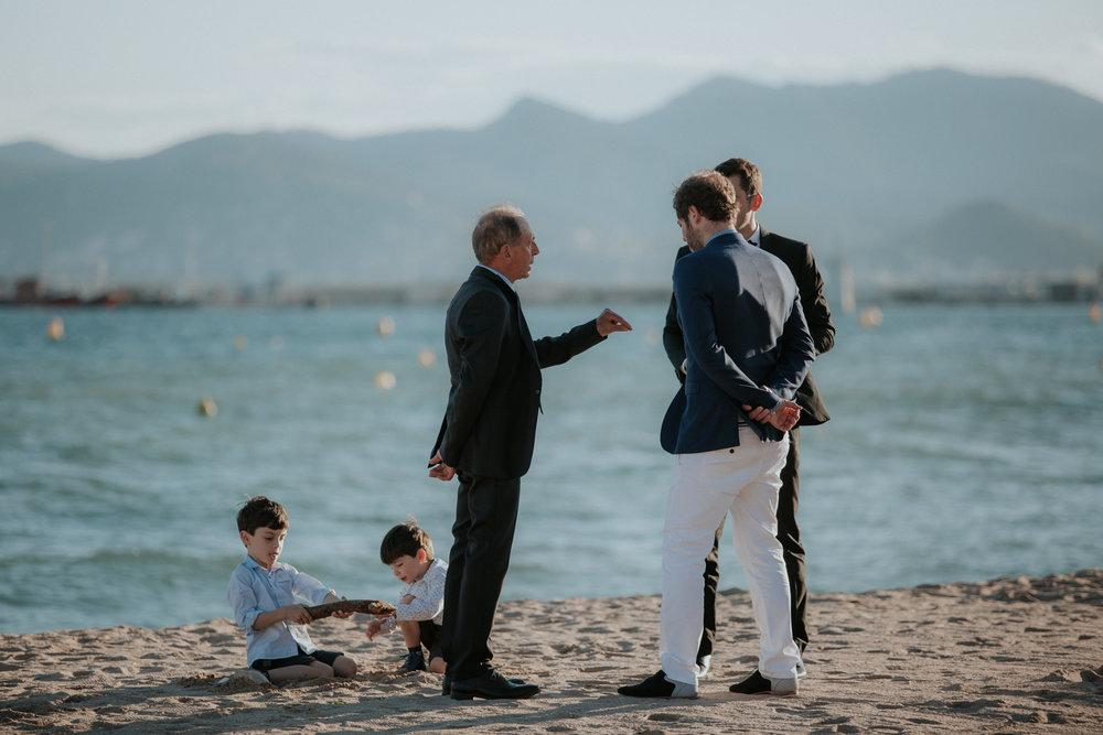 La Plage du Festival Cannes, France Wedding