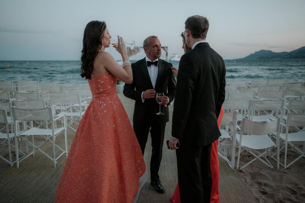 Cannes Beach Wedding
