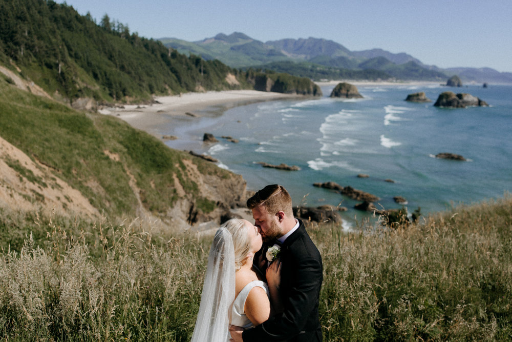 Cannon Beach, Oregon Wedding