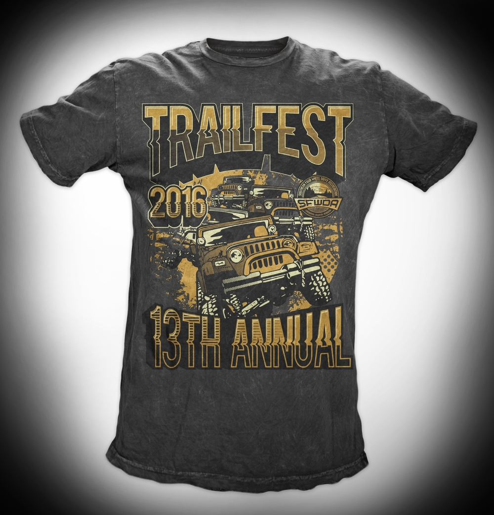 All new Trailfest 2016 Shirt Design