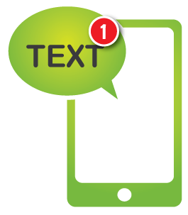 Free Text Message Alerts for event changes & updates