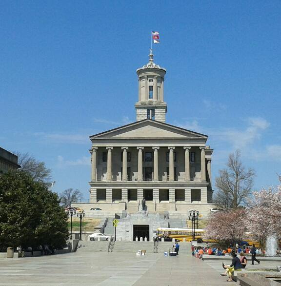 "TN Capital Building ""On the Hill"""