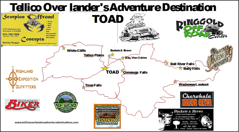 TOAD_Route