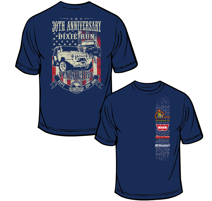 Free Bonus Vendor Ride Shirts