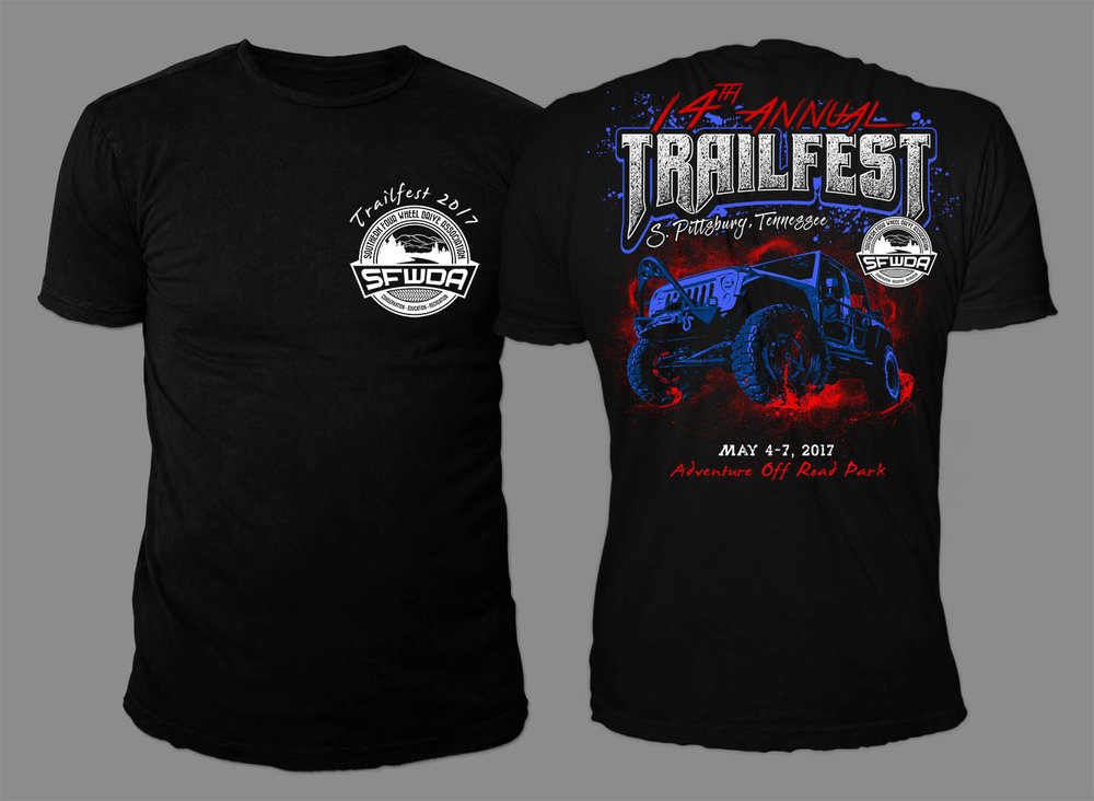 All new Trailfest 2017 Shirt Design