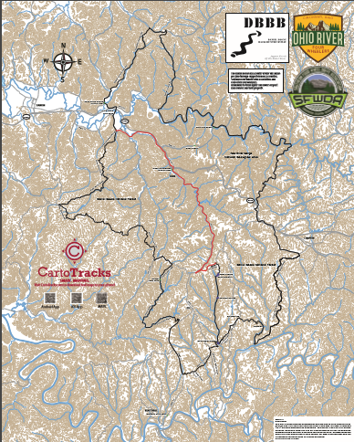 Current map digitally available from Cartotracks.com